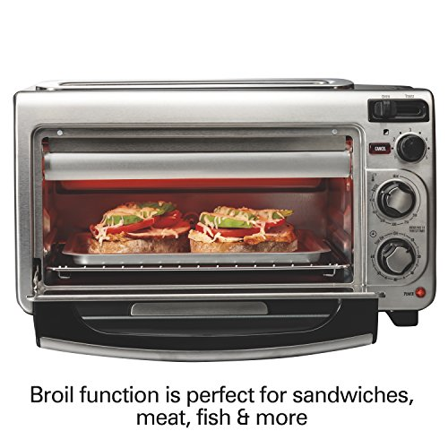 Hamilton Beach 31156 Countertop Toaster Oven Stainless