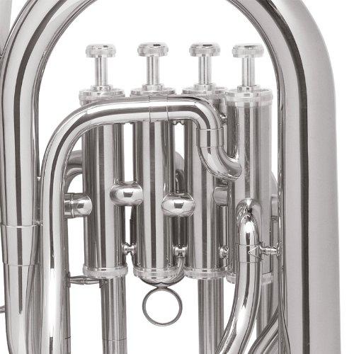 Mendini MEP-N Nickel Plated B Flat Euphonium with Stainless Steel Pistons by Mendini (Image #3)