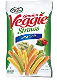 Sensible Portions Garden Veggie Straws, Sea Salt, 1 Ounce (Pack of 24)