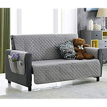 Amazon Com Argstar Light Gray Oversized Couch Cover With