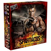 Spartacus A Game of Blood & Treachery Board Game (based on the Starz TV Series)