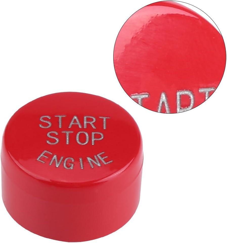 Drucktaste Start Autodrucktaster Auto Motor Start Stopp Taste Zündschalter Druckknopf Umschalten Schalttaste Für F20 F21 F30 F31 F10 F11 F01 F48 F25 F15 F16 Red Auto