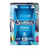 Scotties Original Facial Tissue, 2-ply, 126 sheets per box - 6 Pack