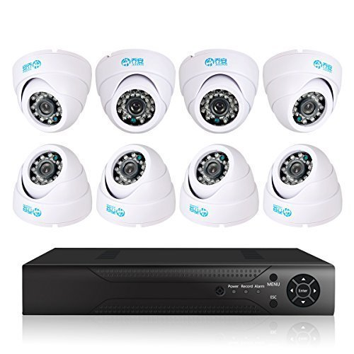 JOOAN TC-570DVR-8Y 8CH DVR P2P Surveillance Digital Video Recorder System With CCTV Security Camera Support Night Vision