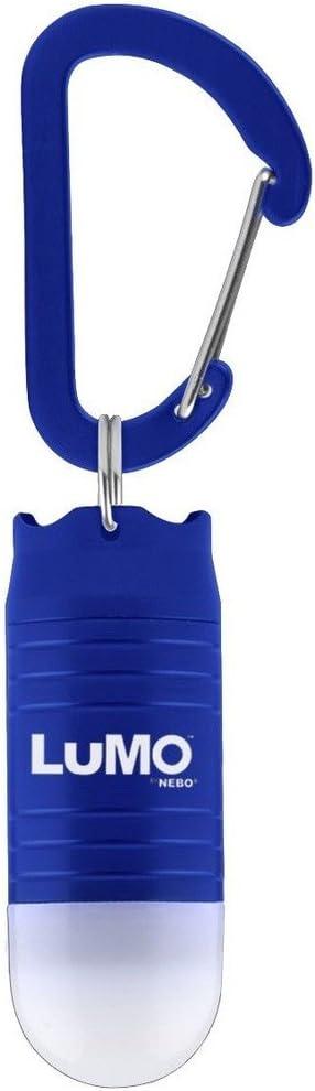 NEBO LUMO LED KEYCHAIN CLIP LIGHT BLUE