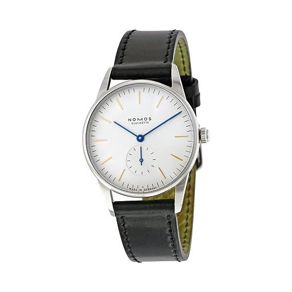 Nomos Orion Blanco Dial Acero inoxidable Acero Unisex Reloj 309