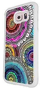 742 - Middle East Multi Art Kubera YantraDesign For Samsung Galaxy S6 Egde Fashion Trend CASE Back COVER Plastic&Thin Metal