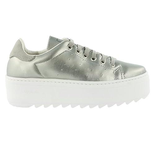 Zapatillas Victoria 09322 - Plataforma Deportivo Metalizada: Amazon.es: Zapatos y complementos