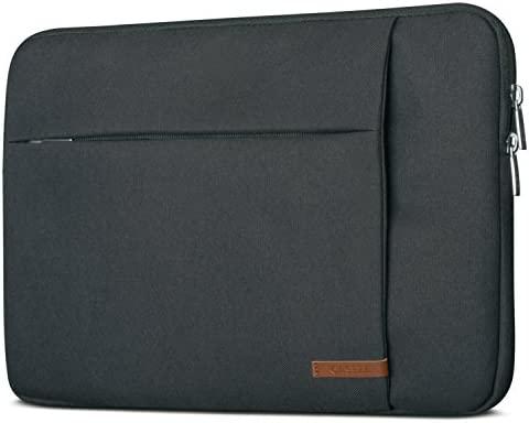 Funda Portátil 13-13.3 Pulgadas Antracita - Bolsa CASEZA London Portátil ASUS Acer Microsoft DELL Lenovo Surface Book y Otros - Funda de Ultrabook 13