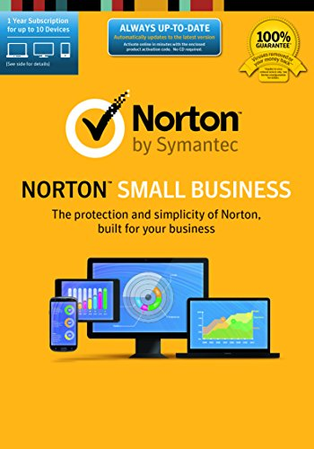 Norton Small Business-10 Device [Download Code] by Symantec