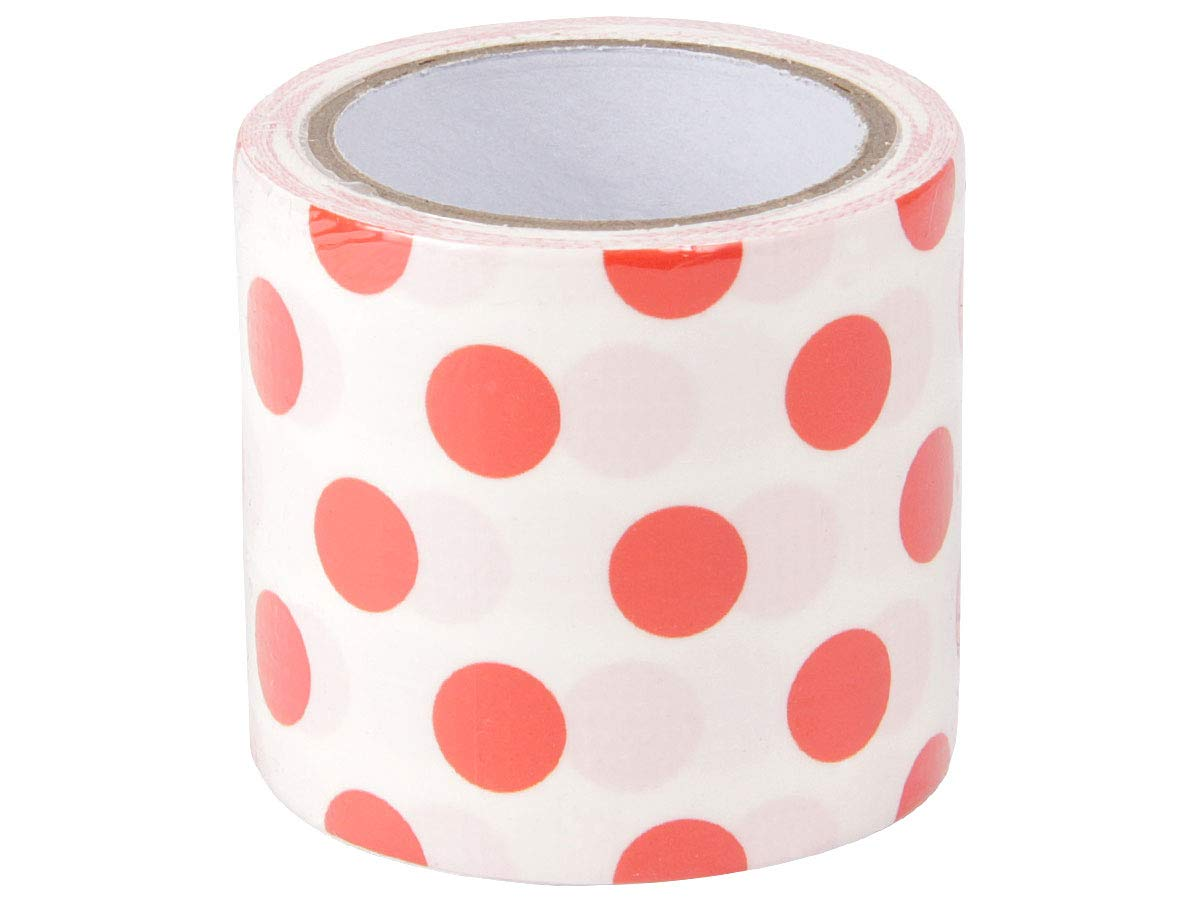 Arancione a pois 29//3162:29//3162-4 Nastro Adesivo Decorativo Washi Tape Largo 4,8cm x 4m Colorato Motivo Creativo per DIY Bricolage Fai Da Te Artigianato Regalo