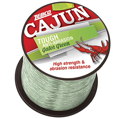 Cajun Line Zebco Cajun Tough Fishing Line 1/4- Lb/Test Spool 12 Lb/Test 12 lb