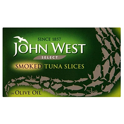 - John West Select Smoked Tuna Slices in Olive Oil (120g) - Pack of 6