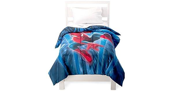 Amazon.com: Marvel Spiderman Comforter individual Size: Home ...