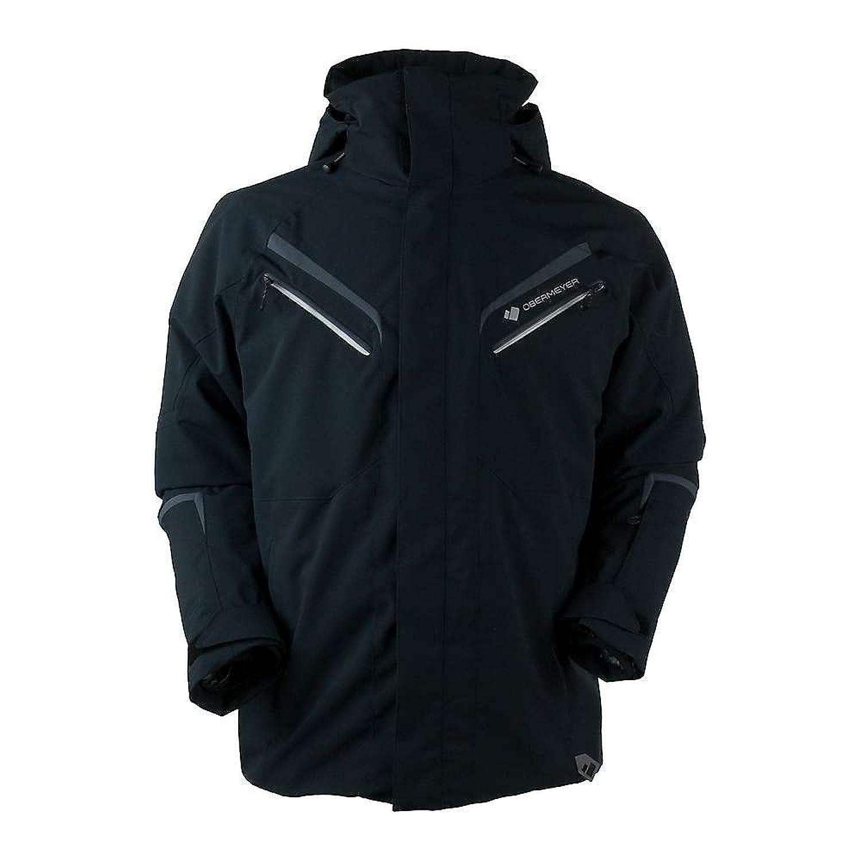 オバマイヤー アウター ジャケットブルゾン Obermeyers Trilogy Prime System Jacket Black [並行輸入品] B079P43ZBK Small