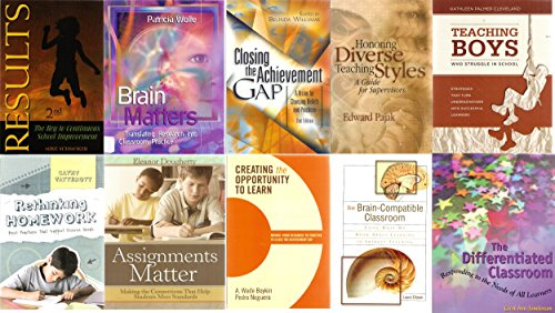 10 Volumes of ASCD Education Books