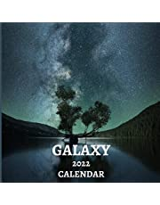 Galaxy Calendar 2022: Galaxy Lover Gift Idea | January 2022 - December 2022 Square Photo Calendar Present For Men & Women | Planets Stars Universe Photo Book Monthly Planner With CA Canadian Holidays