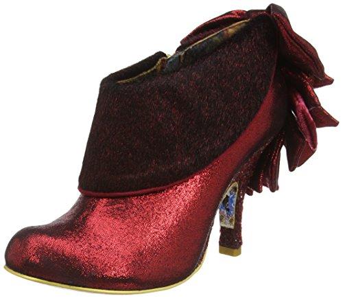 Irregular Choice Love Means, Zapatos de Tacón mujer Rojo (Red)