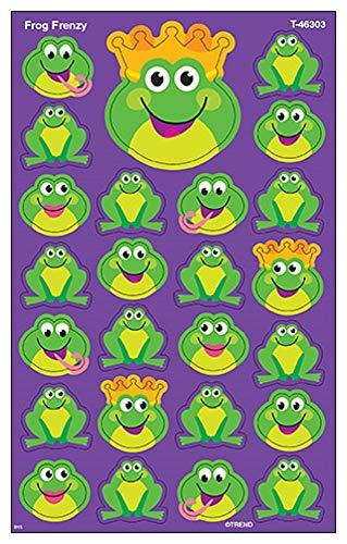 Frog Frenzy Supershape Sticker