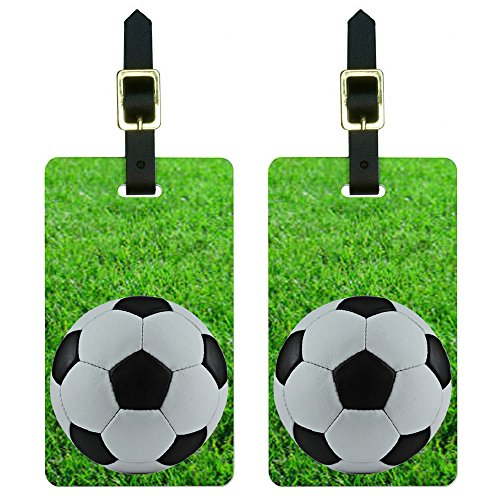 Soccer Luggage Tag - 3