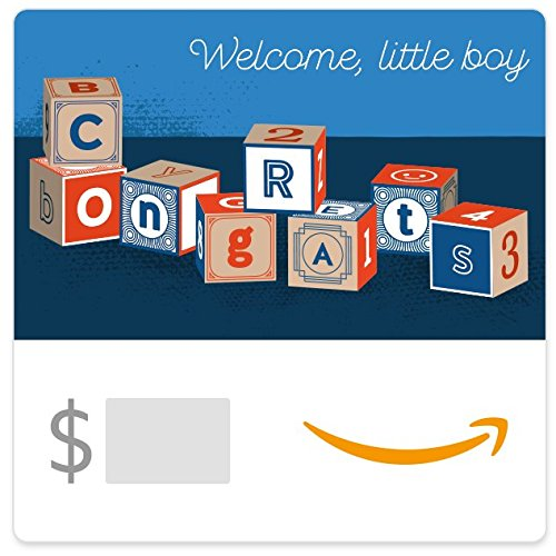 - Amazon eGift Card - Baby Boy Blocks