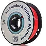 3D Solutech Real Red 3D Printer PLA Filament 1.75MM, Dimensional Accuracy +/- 0.03 mm, 2.2 LBS (1.0KG)