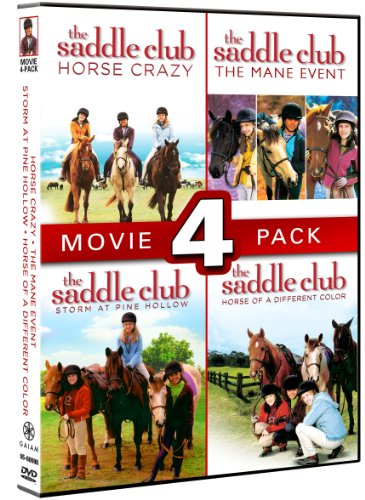 Saddle Club: 4 Pack (The Saddle Club Tv Series)