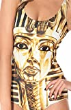 Uget Women's Printed Piece Swimsuit Egyptian Pharaoh One Size