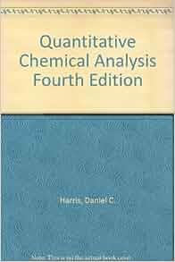 Daniel c harris quantitative chemical analysis free download