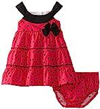 Lilybird Baby-Girls Infant Hot Dress, Pink, 18  Months image