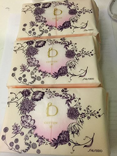 Shiseido Benefique Cotton W 30 Sheet x 3 Travel ()
