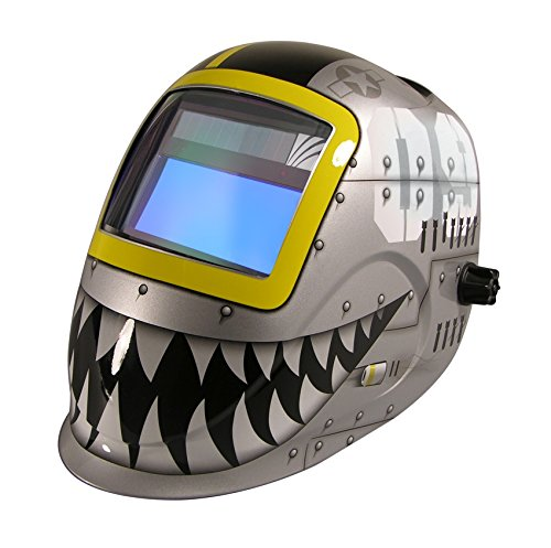 ArcOne Python Welding Helmet Professional Grade with 5500V Auto Darkening Filter (Fighting - Helmet Python Welding