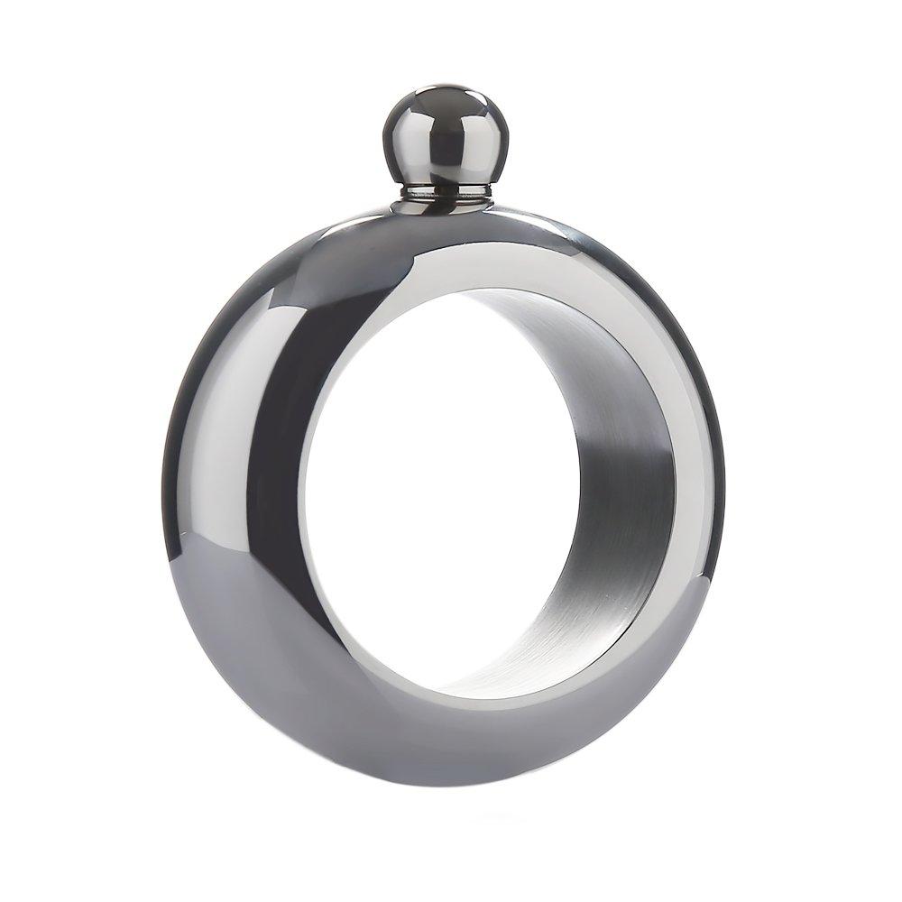 【アウトレット☆送料無料】 (Silver) - MAARYEE Bangle (Silver)/Bracelet Stainless MAARYEE Steel Hip シルバー Flask and Funnel Silver シルバー B072HVWKM6, e-mono plus:da82e2e0 --- a0267596.xsph.ru