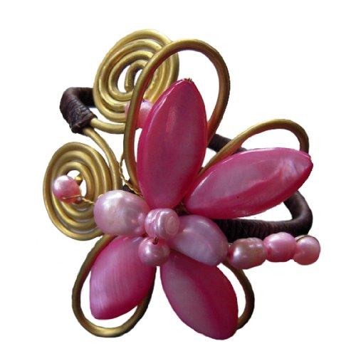 MOP Shell Bracelet Cuff Bangle Handmade NBL2 (Dragon Mop)
