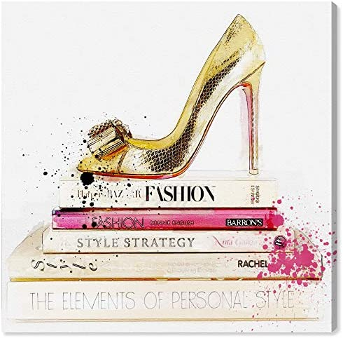 Gold Shoe and Fashion Book