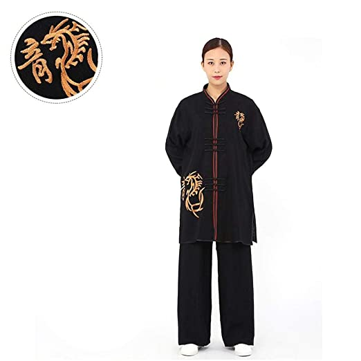 YATOO Clásico Unisexo Trajes Tang Kung Fu Artes Marciales ...