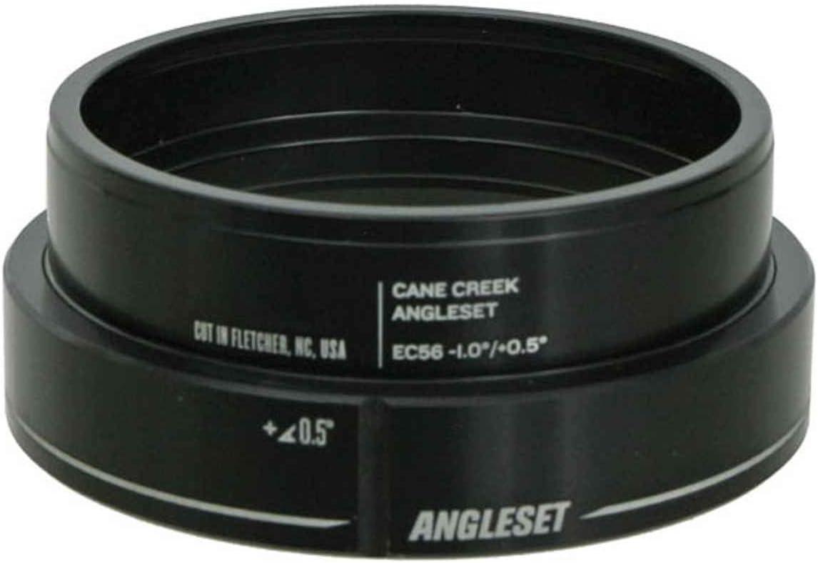 1.0 degree offset Cane Creek AngleSet EC56 bottom cup
