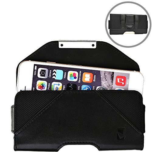 Cooper Belt Mate [Mobile Cell Phone Magnetic Protective Case] for Sony Xperia E/Dual E1/Dual Go/Advance Acro S | Cover Holster Pouch (Black) (Cover Xperia S Acro)