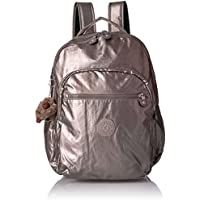 Kipling Seoul Large Backpack (Metallic Pewter)