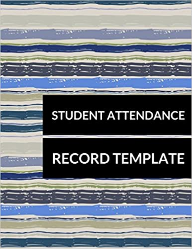Amazon Student Attendance Record Template 9781520575223