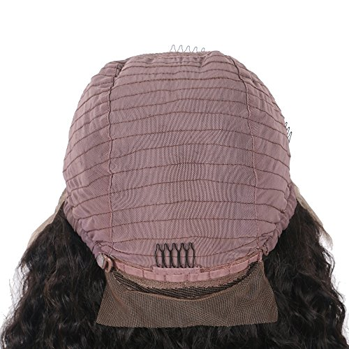 Top 8A Full Lace Human Hair Wigs For Black Women 130% Density Brazilian Loose Wave Curly Front Lace Wigs Lace Front Human Hair Wigs Baby Hair by Kylie Beauty Hair (Image #7)