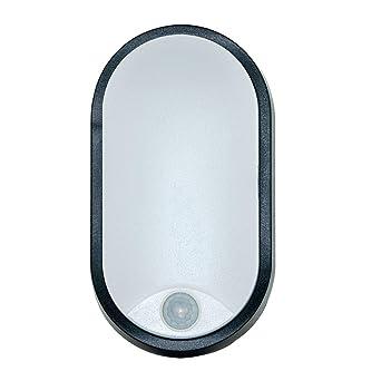 LED Außenwandleuchte rund Batteriebetrieb Außenleuchte IP54 Außenbeleuchtung