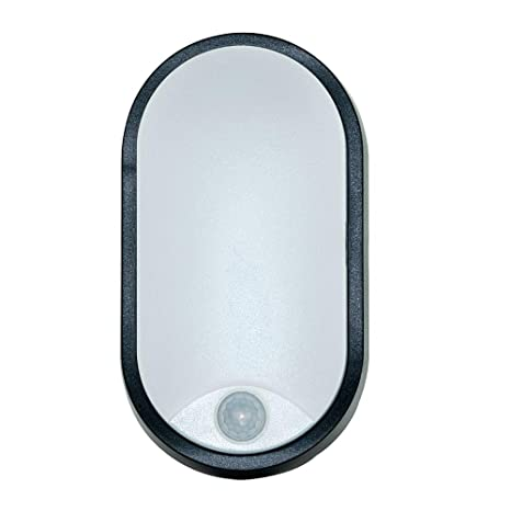Luceco – ebeo10p40 – 01 Ojo de Buey + detector Mini Oval 212 x 119 x