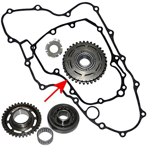 NEW ONE WAY STARTER CLUTCH WITH GEAR FOR HONDA TRX450R TRX 450R TRX 450 R 2006 2007 2008 2009 2010 2011 2012 ()