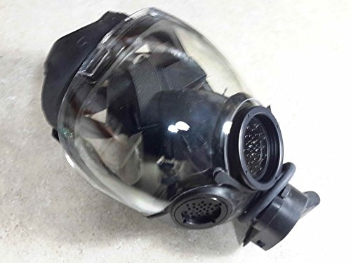 MSA Safety 10051287 Millennium Riot Control Gas Mask, Medium, (Riot Control Mask)