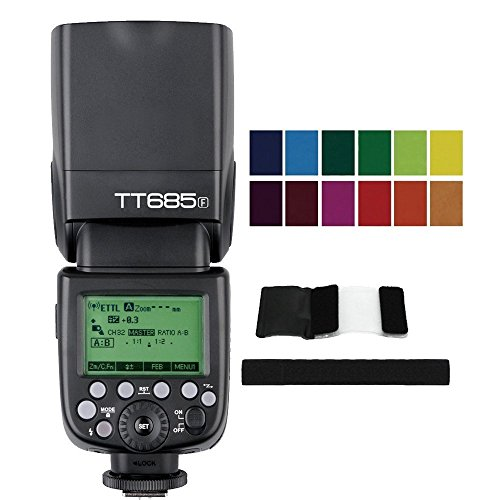 Godox TT685F 2.4G TTL Camera Flash Speedlite with X1T-F Flash Trigger for Fuji Fujifilm X-Pro2 X-T20 X-T1 X-T2 X-Pro1 X-T10 X100F X-E1 X-A3 X100T