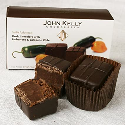 Truffle Fudge Chile Bars by John Kelly (3.4 ounce)