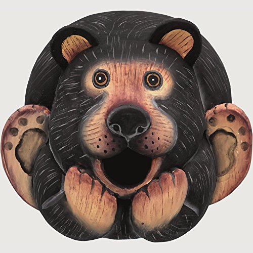 Songbird Essentials SE3880057 Black Bear Gord-O Birdhouse (Set of 1)
