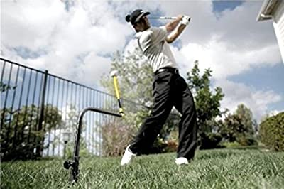Pure path swing trainer with instant feedback golf training aid range new for learn the perfect golf swing. Take the practice range anywhere and never run out of golf balls.