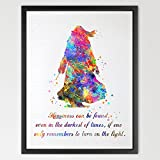 Dignovel Studios 8X10 Dumbledore Harry Potter Quote Watercolor illustration Art Print Wall Art Poster Home Decor Art Wall Hanging Kids Art Birthday Gift N334